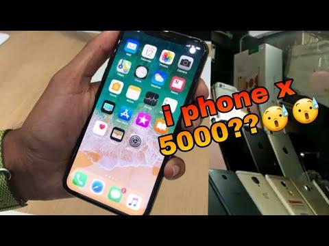 I phone x just 5000 Rs   cheap iPhone mobile market   Gaffar Market   mobile market in Delhi