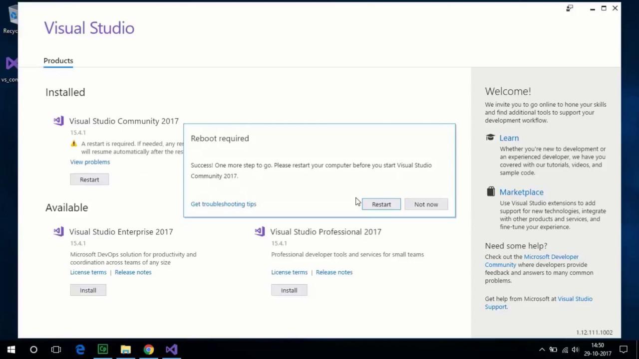 Xamarin Forms : Cross-Platform App Development [Tutorial - 1] - Visual  Studio 2017 Installation
