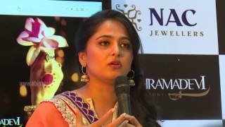 NAC Jewellers Anushka Shetty