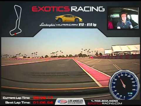 Lamborghini Huracan 610hp 4 Exotics Racing Los Angeles CA