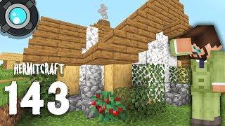 HermitCraft 6: 143 | I made a DIORITE house!