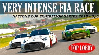 GT Sport - Very Intense FIA GT Nations Cup - Exhibition Series 2018 3 / 6