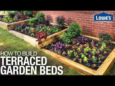 How to Build a Terraced Garden Bed on a Slope