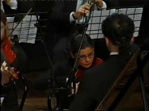 W. A. Mozart: Piano concerto in E flat Major, K. 271, Sara Rustja Turniski, piano (1st part)