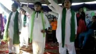 Zain ul hassan perform AYE JAWAN in  KFS multan - by DANISH HUSSAIN - BZU -  FM 93