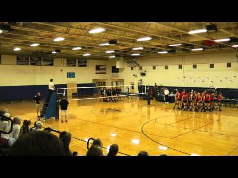 Yarmouth High School Vs. Scarborough Volleyball: 5th Set
