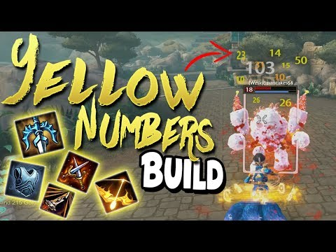 Smite: THE YELLOW NUMBERS DAJI BUILD - SO MANY DOTS!