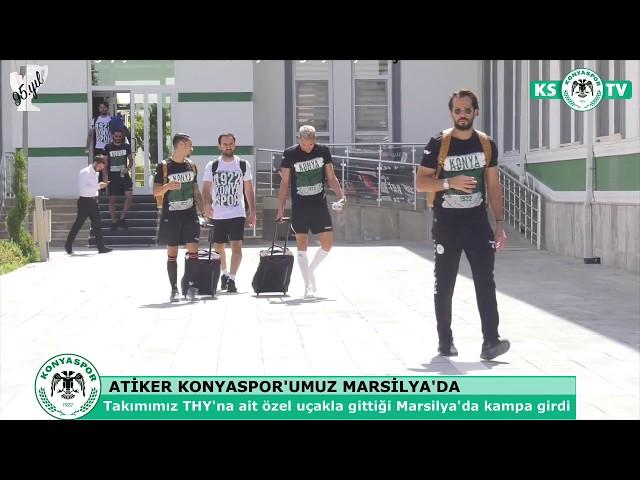 Atiker Konyaspor'umuz UEFA Avrupa Ligi maçı için Marsilya'da