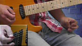 Lenny Kravitz - are you gonna go my way solo lesson - part B
