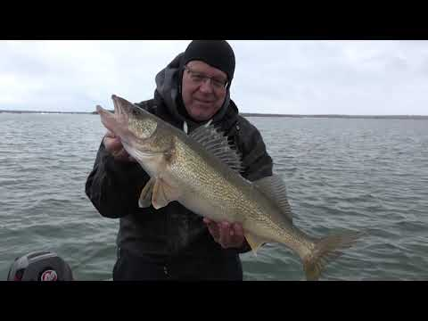 Snow And Walleye In Sault Ste Marie!