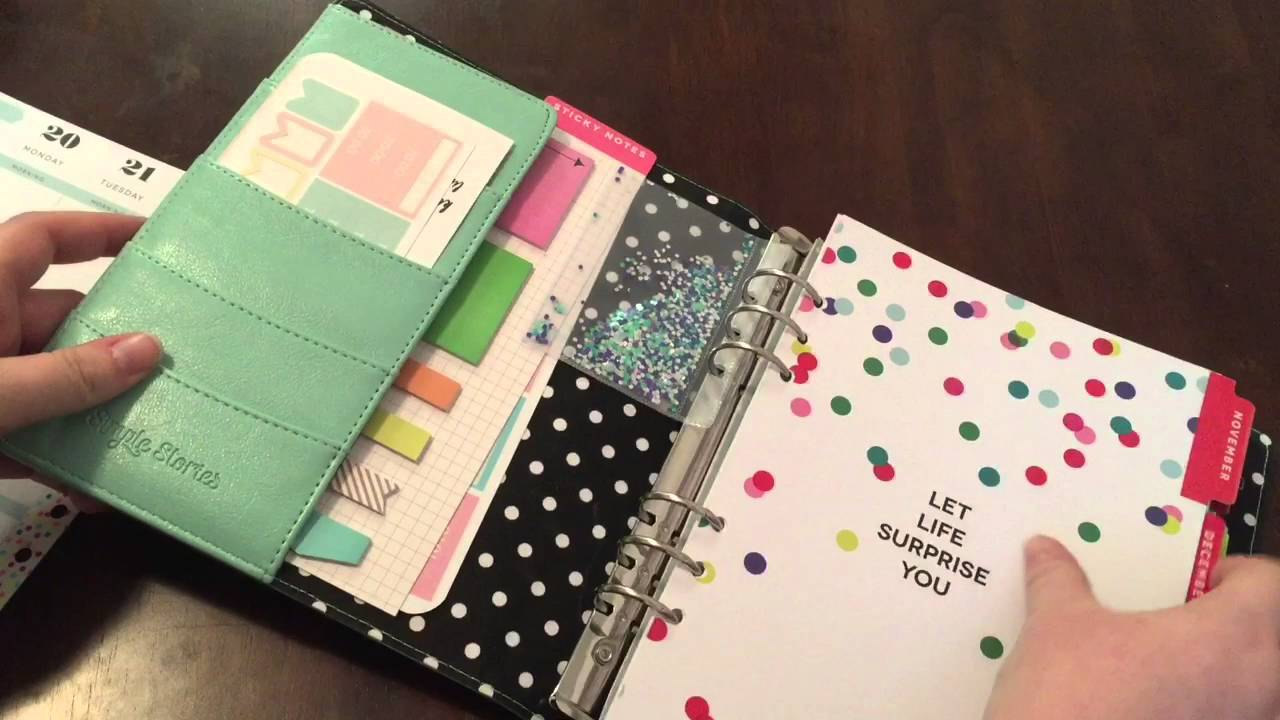 Lively image with regard to planner binders