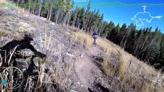 Mountain Biking at West Magnolia, Colorado
