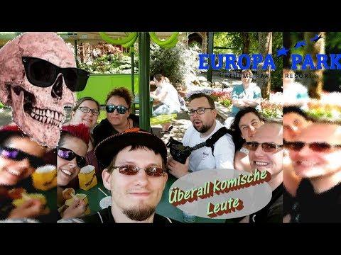 Überall komische Leute  Europa Park