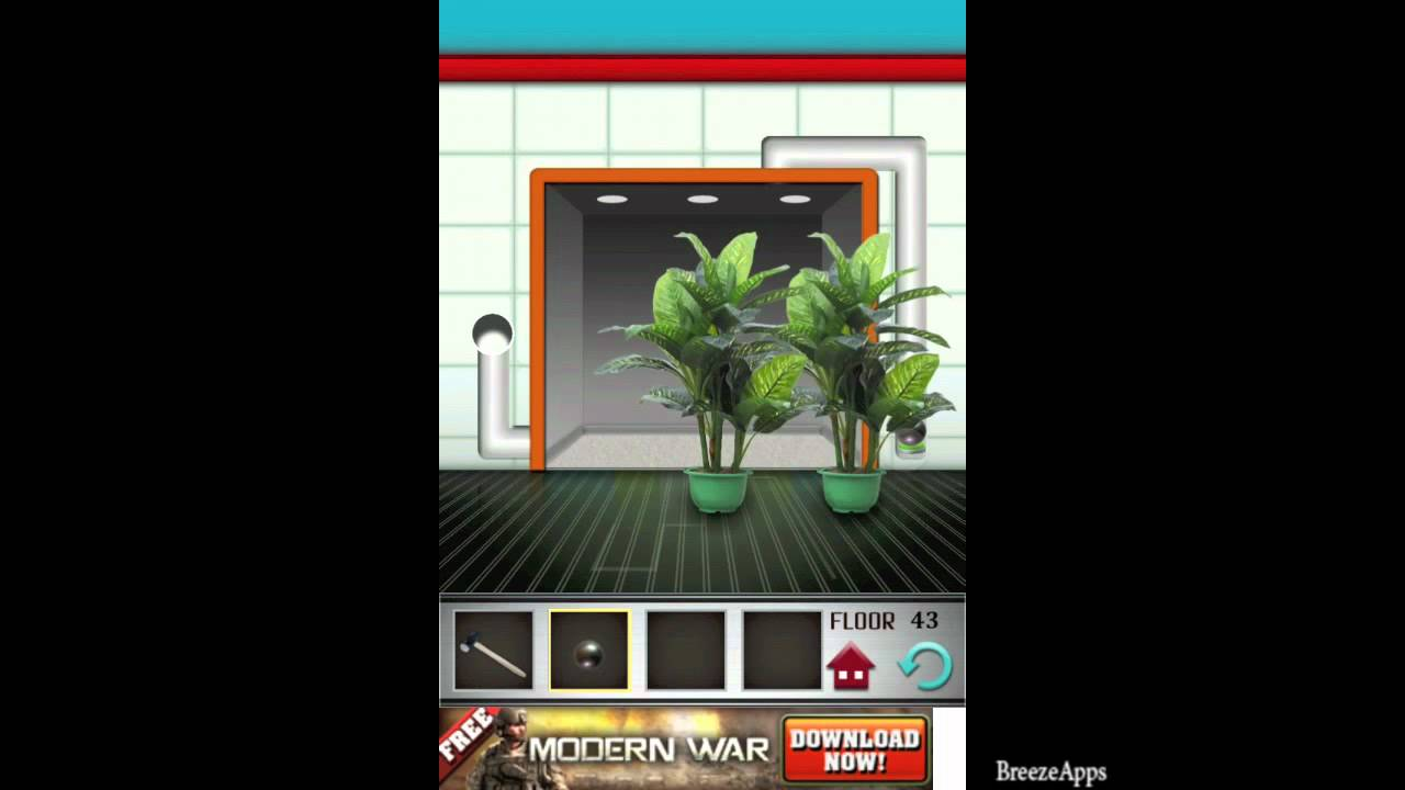 100 Floors Level 43 Walkthrough Level 100 Floors Solution Floor 43 Iphone Ipad Youtube