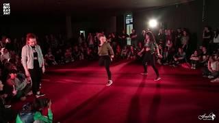 Sibprokach 2017 /DANCEHALL 2x2  / Янэт & Жара vs So What Crew(win)/