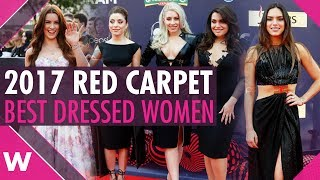 Eurovision 2017 red carpet: Who were the best dressed women?