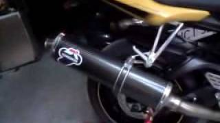 YAMAHA R6 VR 46 ROSSI TERMIGNONI EXHAUST WITH DB KILLER