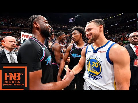 Golden State Warriors vs Miami Heat Full Game Highlights - Feb 27, 2018-19 NBA Season - 동영상