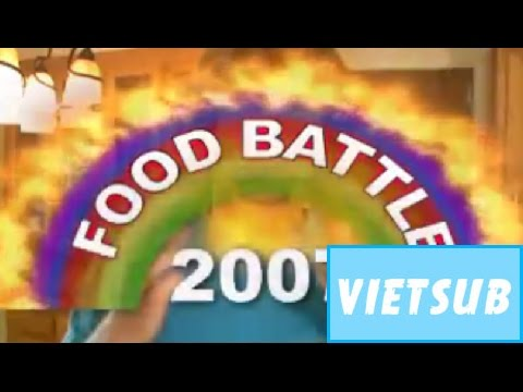 Vietsub | Smosh | FOOD BATTLE 2007