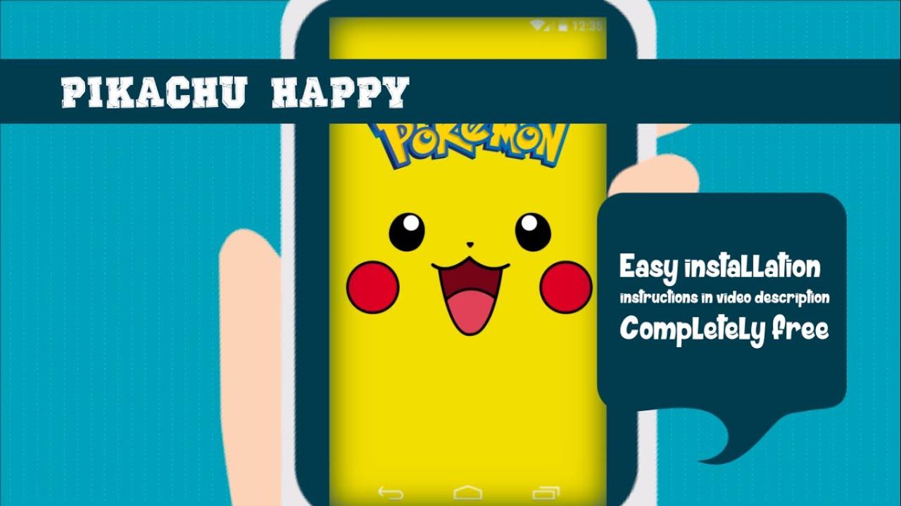 free live wallpaper gamers pikachu happy pokemon youtube