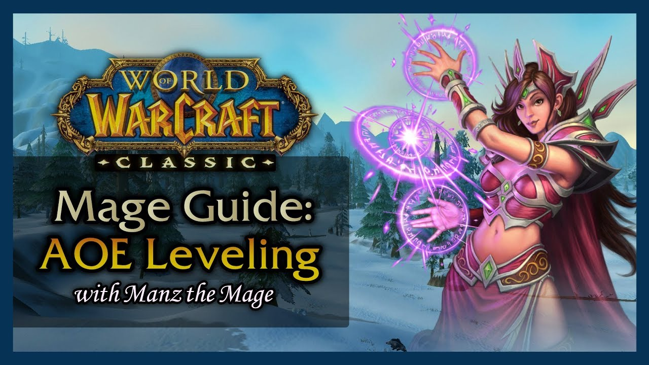 wow classic frost mage leveling guide