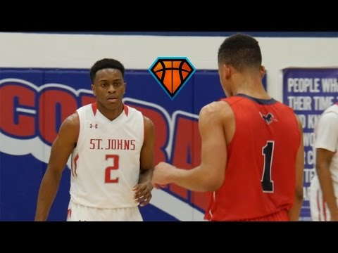 St John's Holds Off Devon Dotson & Providence Day at The Music City Classic!!   Full Game Highlights