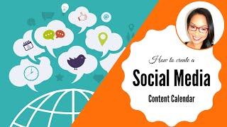 Wie erstellen Sie eine Social Media-Inhalte, Kalender