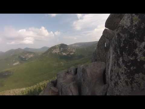Katahdin Hiking: Hunt Trail / Appalachian Trail GoPro 080516