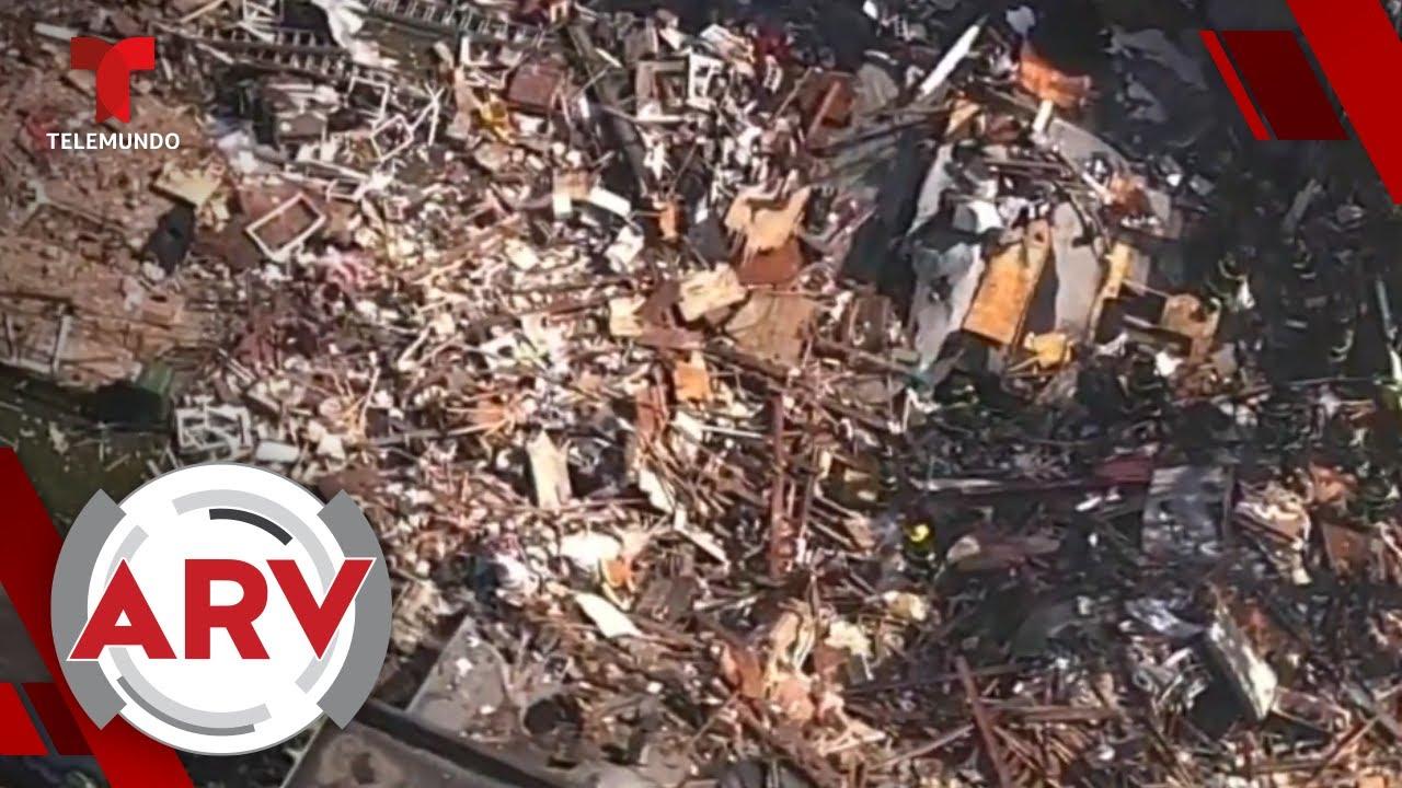 Una explosión de gas natural dejó caos y destrucción en Baltimore | Al Rojo Vivo | Telemundo