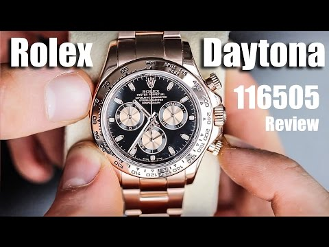 2018 Rolex Daytona Rose Gold Review