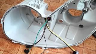 AvtoGSM.ru би-линзы Sho-me 330 не Hyundai Sonata EF