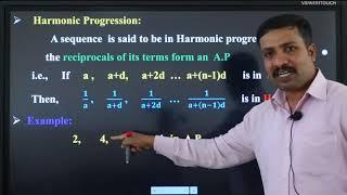 I PUC | Basic Maths | Progressions -08