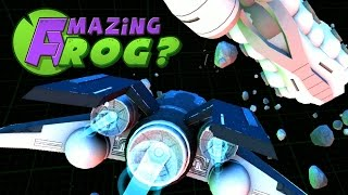 Amazing Frog - FLYING A SPACESHIP - PC Gameplay Part 24