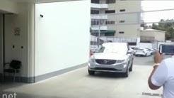 Volvo plows into pedestrians during safety demo