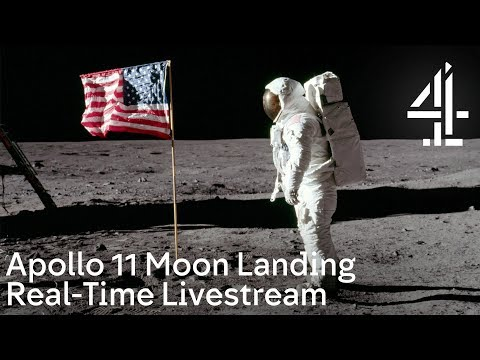 Moon Landing Live | Real-time Livestream Of The Apollo 11 Mission