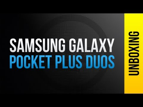 Unboxing -  Samsung Galaxy Pocket Plus Duos GT-S5303 [PT-BR]
