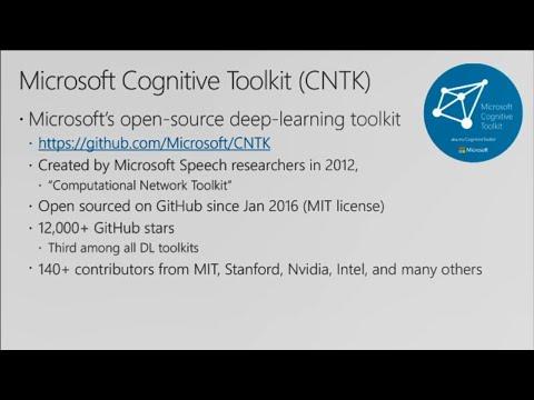 CNTK – Frank's World of Data Science