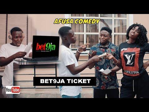 Download AFUSA COMEDY - BET9JA TICKET