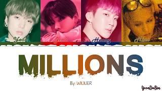 Winner(위너) - 'millions' han/rom/eng color coded lyrics