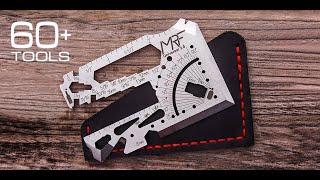 Universal 3.0: EDC Credit Сard Multi Tool Knife. 60+ tools by MRF Multitools