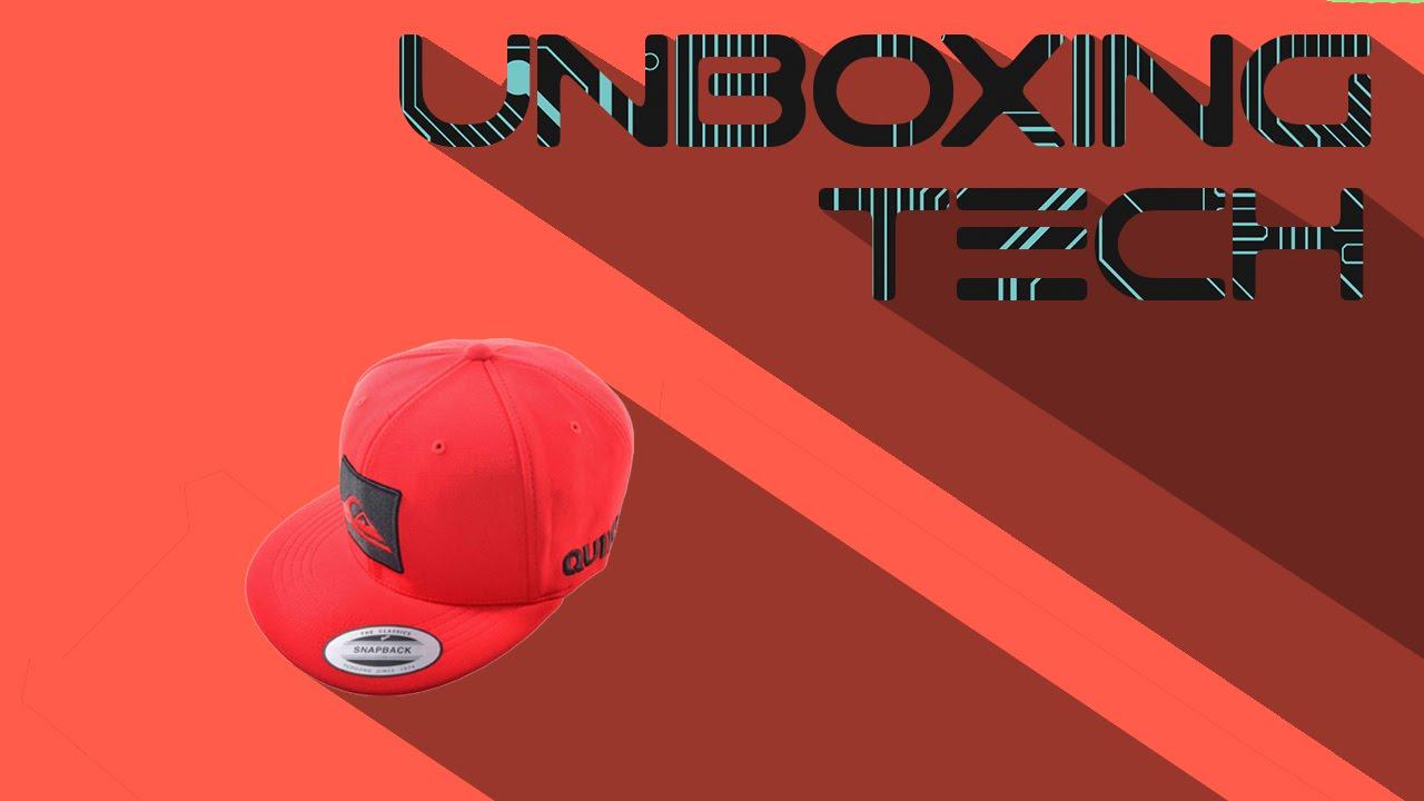 Unboxing - Réplica Boné Quiksilver  a0b412d723d