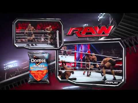 WWE Raw 08/12/2013 Battle Royal for the United States Championship at Summerslam 2013