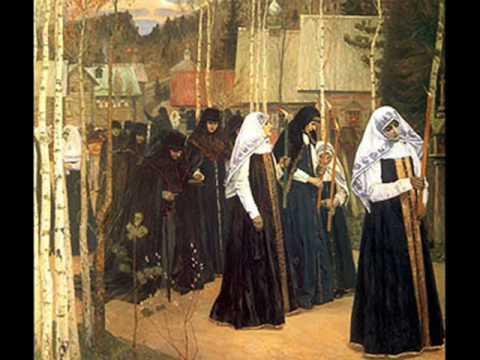 Russian painter  Mikhail Nesterov