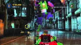 Lego Batman 2 DC Super Heroes: Level 13 FREE PLAY - 10 of 10 Mini Kits - HTG