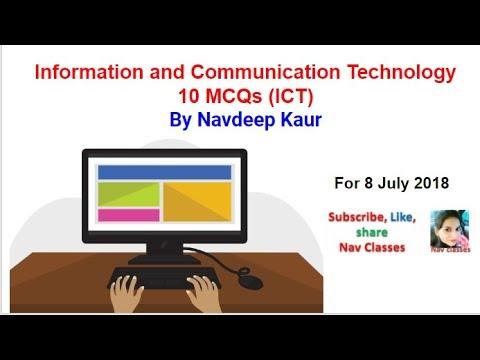 NTA NET | 10 MCQs on ICT | Paper 1