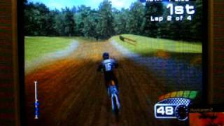 MX 2002 Featuring Ricky Carmichael PS2 250cc Outdoor Race