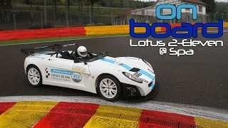 video thumbnail of Watch Ron Simons Handle Feisty Lotus 211 at Spa - On Board Eps. 10