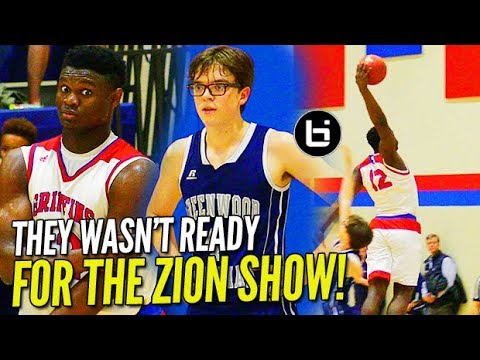'MERCY RULED IN 1st HALF?!' Zion Williamson CRUSHES WINDMILL in 50 pt. BLOWOUT!