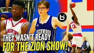 """""""MERCY RULED IN 1st HALF?!"""" Zion Williamson CRUSHES WINDMILL in 50 pt. BLOWOUT!"""