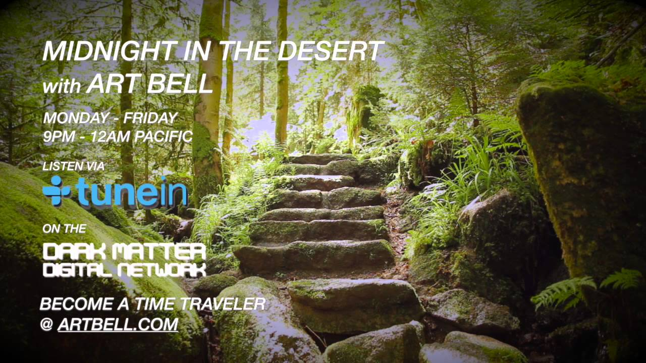 Art Bell Talks About Strange Staircases Appearing In National Parks